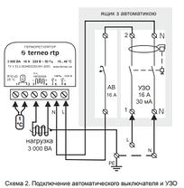 Терморегулятор для теплого пола terneo rtp, фото 2