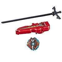 Beyblade Бейблейд с пусковой установкой в вида меча Эскалиус X3 Xcalius X3 Burst Evolution Hasbro 08690