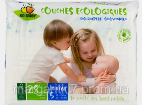 Подгузники для детей Bio Babby Junior унисекс 12-25 кг 28 шт