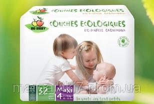 Подгузники для детей Bio Babby Maxi унисекс 7-16 кг 32 шт