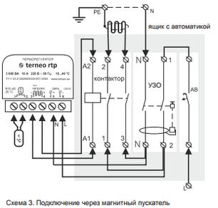 Терморегулятор для теплого пола terneo st unic, фото 2