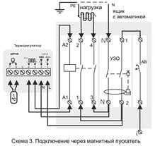 Програмований терморегулятор для теплої підлоги terneo pro, фото 2