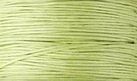 Вощенный шнур светло-салатовый (примерно 400 м)