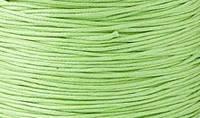 Вощенный шнур светло-зеленый (примерно 400 м)
