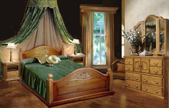 Кровать из дуба Пегас, фото 2