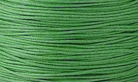 Вощенный шнур ярко-зеленый  (примерно 400 м)