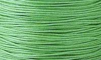 Вощенный шнур темно-зеленый  (примерно 400 м)