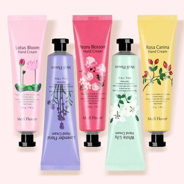 Medi Flower The Secret Garden of Five Hand Cream