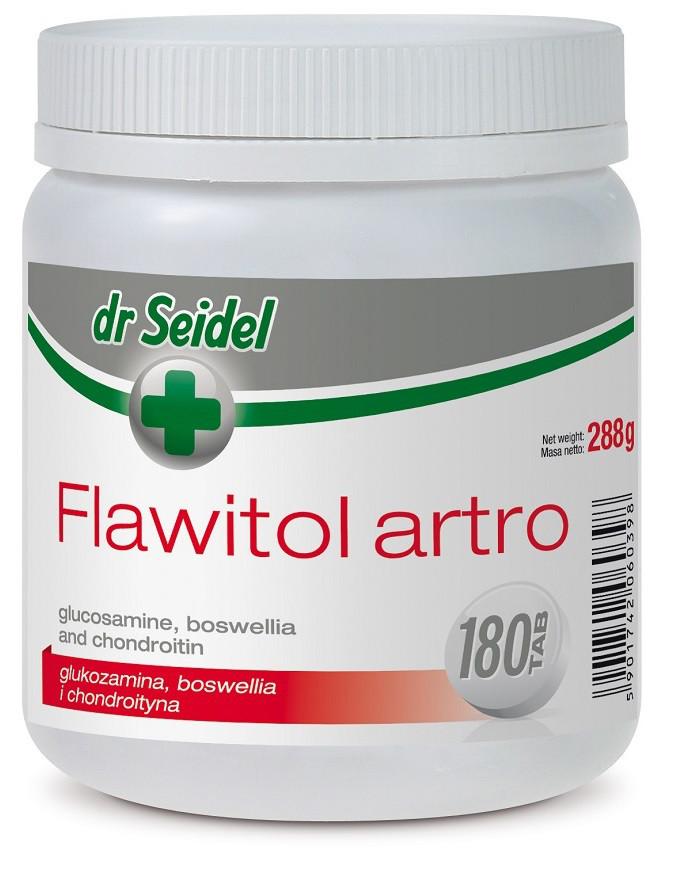 ФЛАВИТОЛ АРТРО Доктора Зейделя FLAWITOL ARTRO Dr. Seidel витамины для суставов собак, 180 таблеток