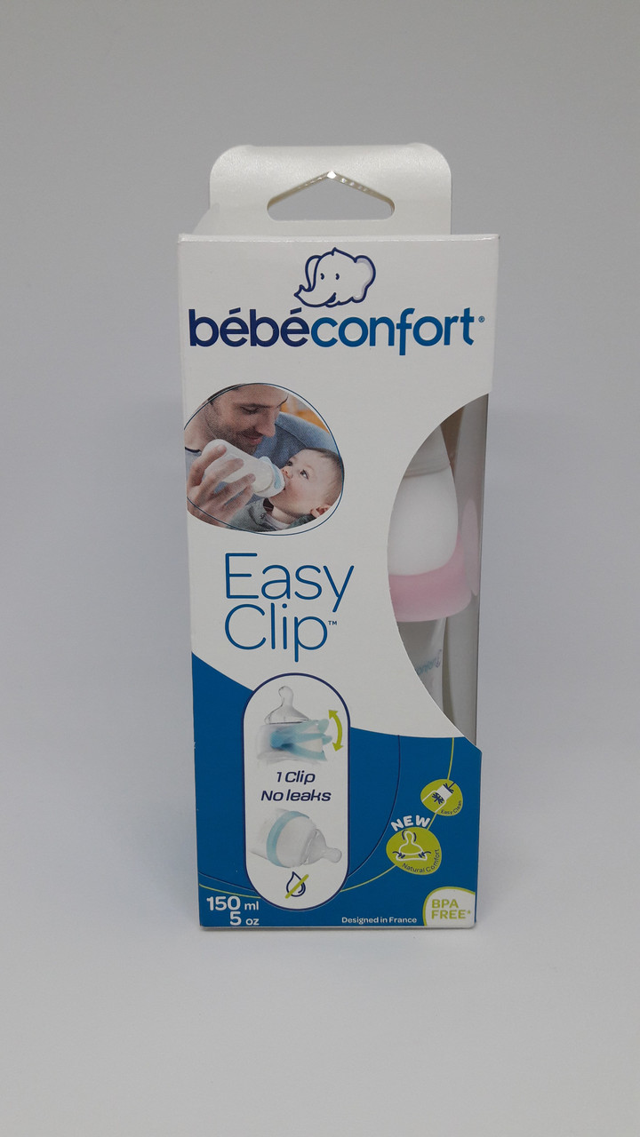 Бутылочка Bebe Confort 150 мл для девочки