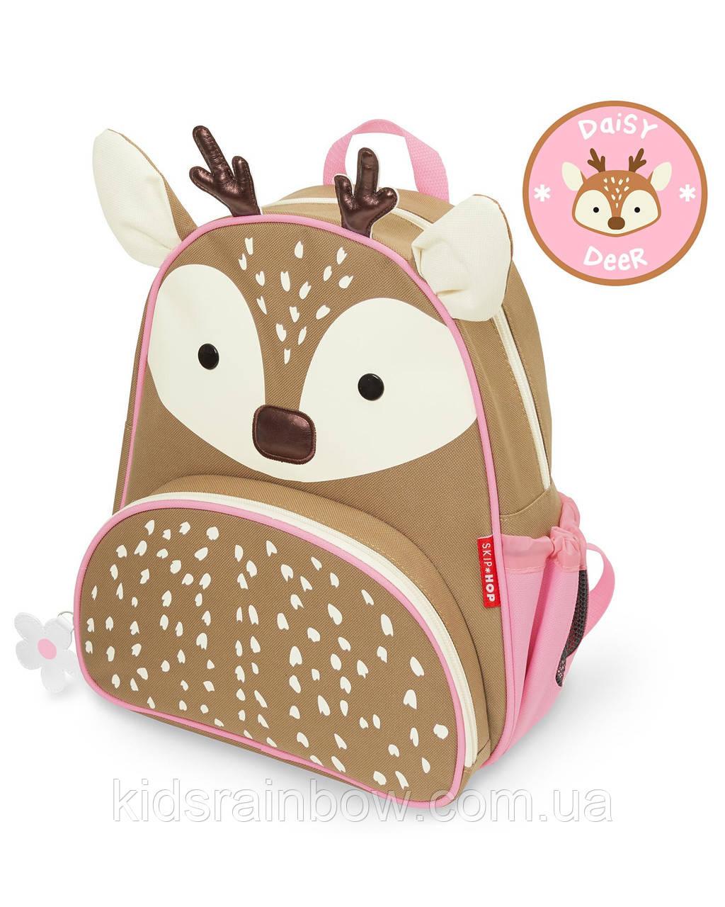 """Детский рюкзак Skip Hop """"Зимний зоопарк"""" Олененок"""
