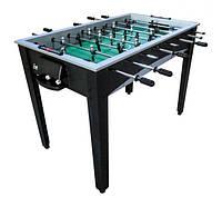 Игровой стол EVERTON настольный футбол для взрослых и детей -  122 х 65,4 х 81,3 см, кикер