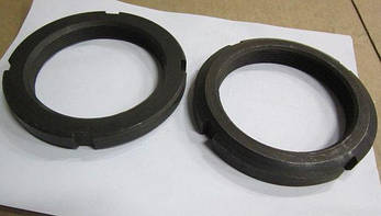 Гайка М39 круглая шлицевая ГОСТ 11871-88, фото 2
