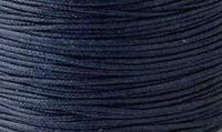 Вощенный шнур темно-синий  (примерно 400 м)
