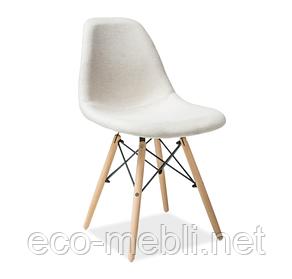 Дерев'яне крісло на кухню Coco beż Signal