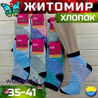 Носки женские демисезонные х/б Талько NJD-0233