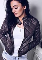 Женская лёгкая куртка весна  осень синтепон 150