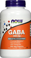 NOW GABA 500mg 100 caps