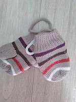 C&A Утепленные флисом теплющие варежки от от C&A Германия размер 74-80 рост ребенка, фото 1