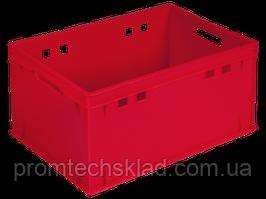Ящик пластиковый 600*400*300 (Е3) цветной