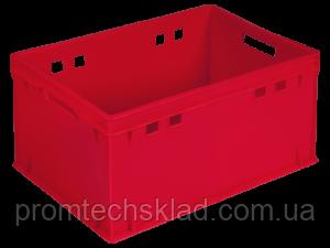Ящик пластиковый 600*400*300 (Е3) цветной/втор..