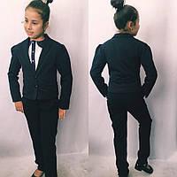 Стильный пиджак на девочку детский школа, фото 1