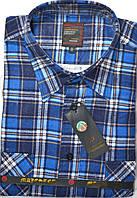 Мужская байковая (фланелевая) рубашка (44, 45, 46 размеры)