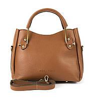 6773df9a9d4b Клатч-сумка из искусственной кожи Wera Polo 043 коричневый Турция