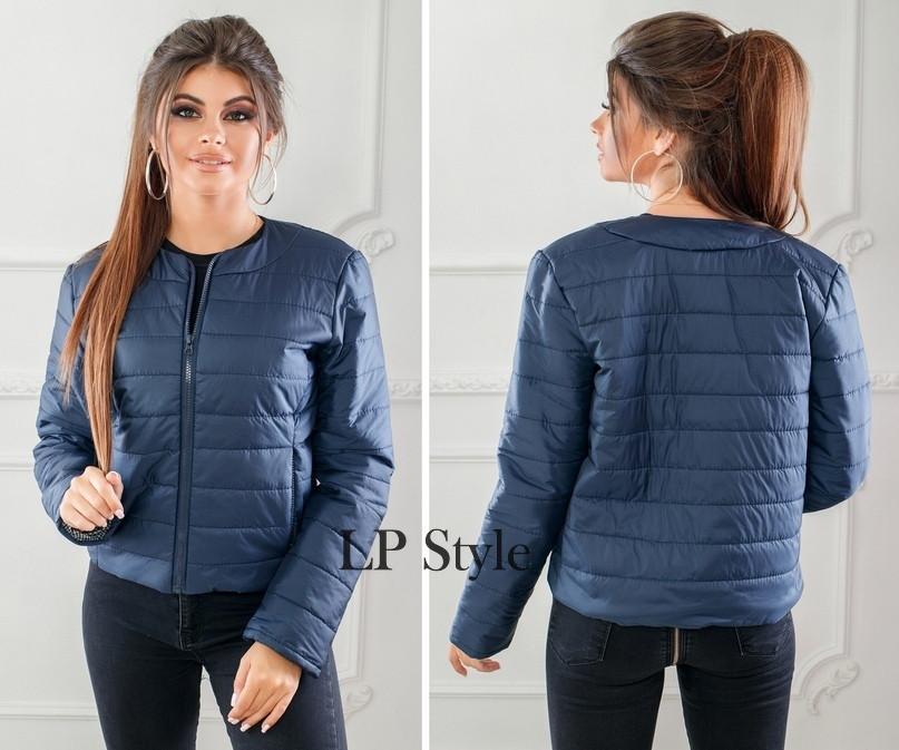 4fc336bf4a5 Женская куртка весна осень синтепон - Bambarbia в Одессе