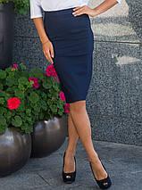 Женская коттоновая юбка карандаш (2079 sk/ist), фото 3