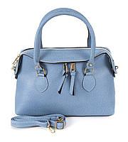Клатч-сумка из искусственной кожи Wera Polo 020 голубой Турция