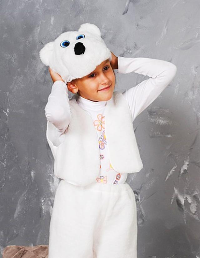 Карнавальный костюм Белый Мишка