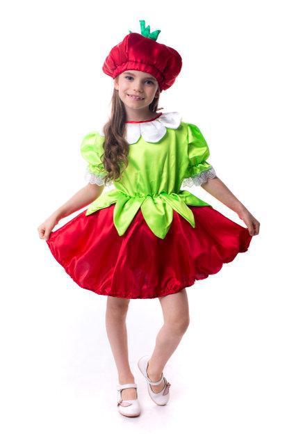 Детский карнавальный костюм Клубника