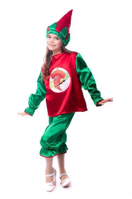 Детский карнавальный костюм Перец чили