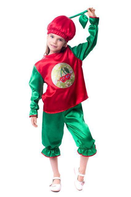 Красочный карнавальный костюм Вишня