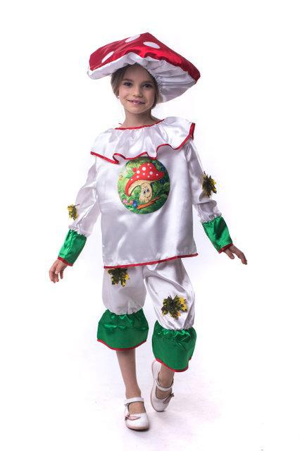 Дитячий маскарадний костюм Мухомор