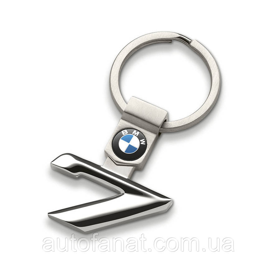 Оригинальный брелок BMW 7 Series Key Ring, Silver (80272454653)