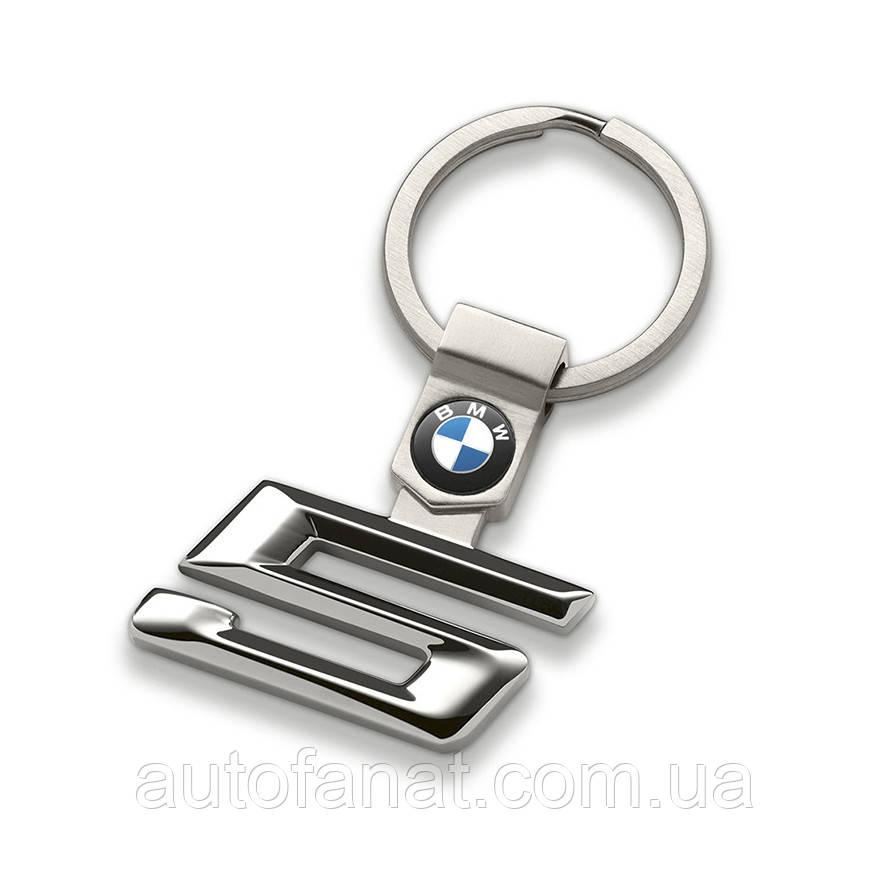 Оригинальный брелок BMW 5 Series Key Ring, Silver (80272454651)