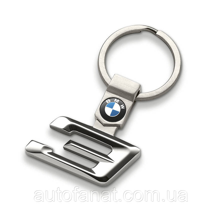 Оригинальный брелок BMW 3 Series Key Ring, Silver (80272454649)