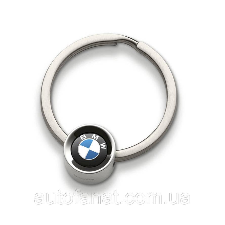 Брелок BMW Logo Key Ring, Silver, артикул 80272454771