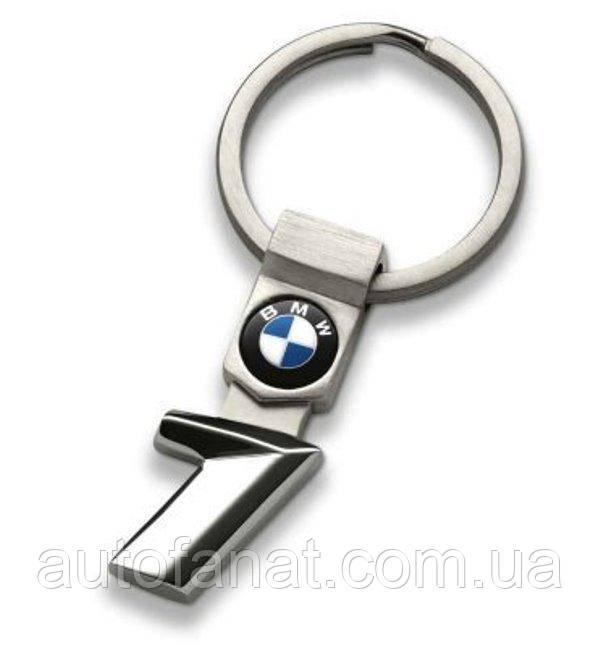 Оригинальный брелок BMW 1 Series Key Ring, Silver (80272454647)
