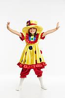"""Детский карнавальный костюм """"Клоунсса"""""""