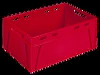 Ящик пластиковый 600*400*280 цветной/втор., фото 1