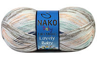 Пряжа для ручного и машинного вязания NAKO Lovely Baby