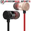 Стерео Блютуз (Bluetooth 4.1) наушник JAKCOMBER SPORTS (Серебро) без лишних проводов с микрофоном На магнитах, фото 8