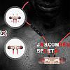 Стерео Блютуз (Bluetooth 4.1) наушник JAKCOMBER SPORTS (Серебро) без лишних проводов с микрофоном На магнитах, фото 7