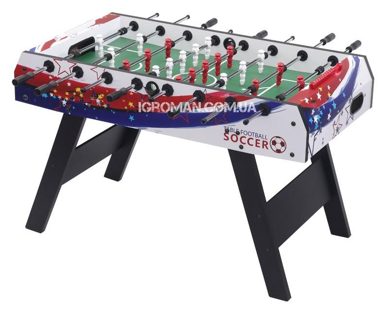 Настольный футбол Mirage - 138.5 x 73 x 88 cм