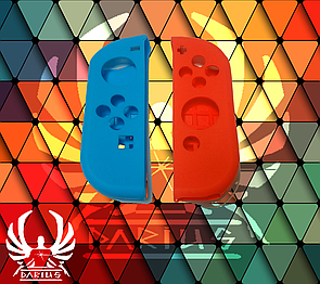 Силиконовый чехол для джойстика Nintendo Switch (синий)
