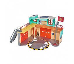Пожарная станция с фигуркой Пожарный Сэм Simba 9258282 (свет, звук)