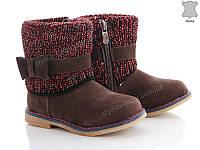 Детская обувь оптом. Детская кожаная демисезонная обувь бренда СВТ.Т -  Meekone для девочек 0675e9ccf18af